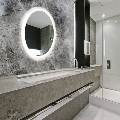Royal M12 Round/Oval Series LED Backlit Mirror