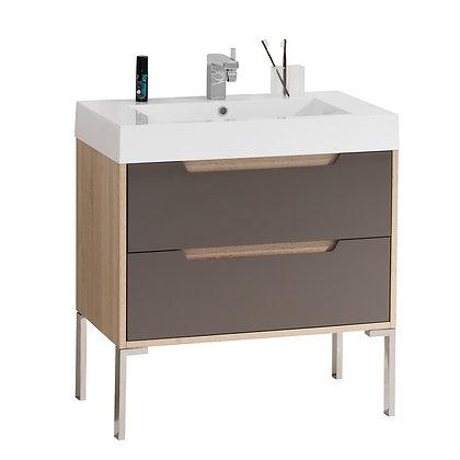 Bologna 32 in Bathroom Vanity with Countertop Basin
