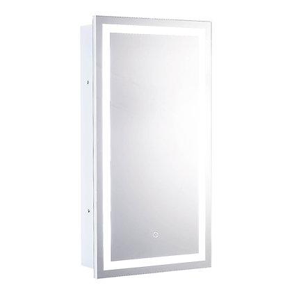 """Cabinet LED Backlit Mirror 16"""" x 30"""""""