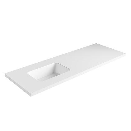 Carrara Solid Surface Vanity Top (SSVT60)