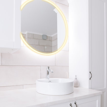 Maxwell M19 Series LED Backlit Mirror (Round)