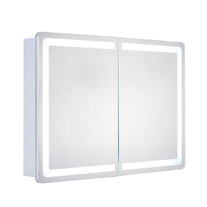 "Cabinet LED Backlit Mirror 34"" x 24"""