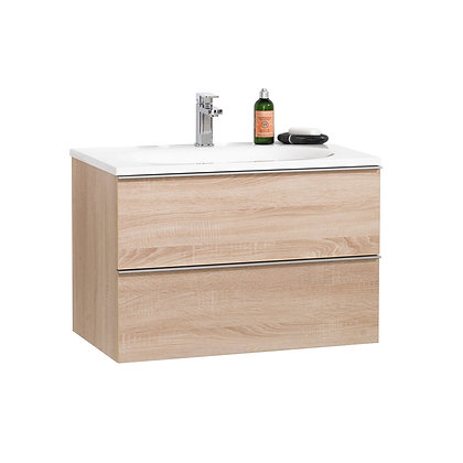Turin 30 in Bathroom Vanity with Countertop Basin