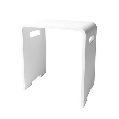 Solid Surface Vanity Seat