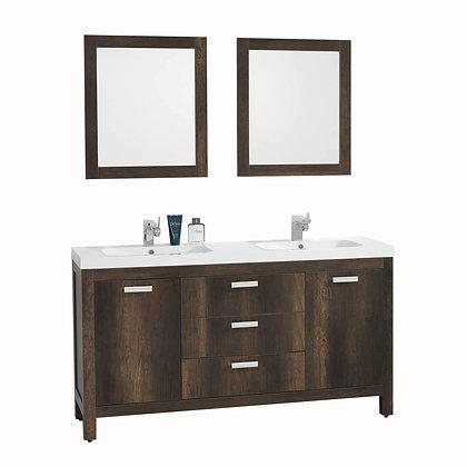 Massa Vanity and Mirror Set