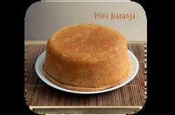 Torta Mini  Naranja Ponqué Ponqué
