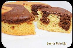 Torta Junior Vainilla Ponqué Ponqué