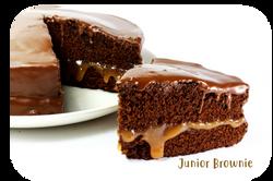 Torta Junior Brownie Ponqué Ponqué