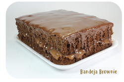 Bandeja de Brownie Ponqué Ponqué