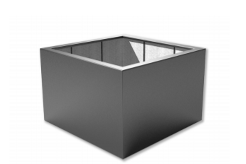 Ref PB9 - Vierkantig, Polyester L500 x B500 x H500