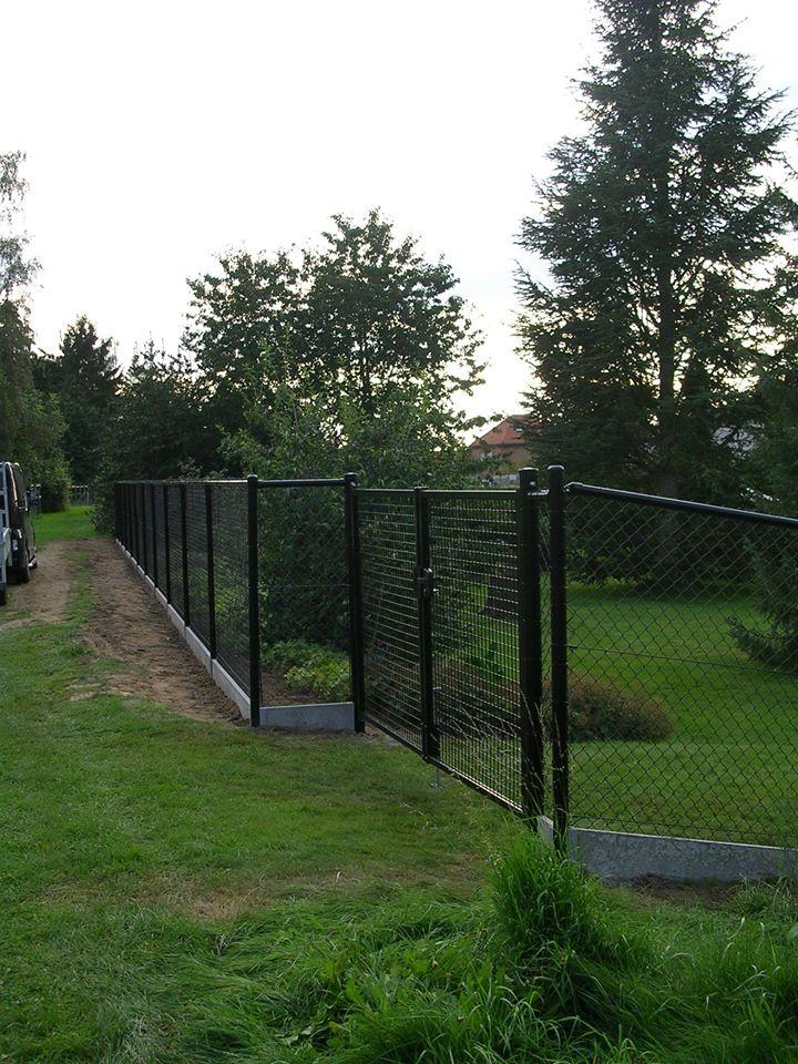 Draadafsluiting met dubbele poort
