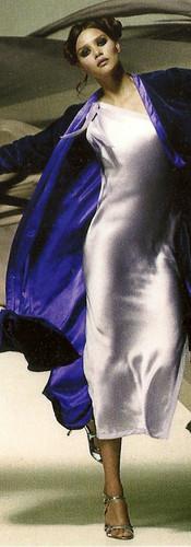 Cocoon Fernanda One Shoulder Nightgown & Samkarand Silk Velvet Robe