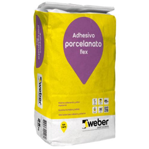 SOLCROM/WEBER PORCELANATO FLEX 25 KG