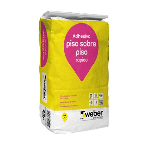 SOLCROM/WEBER PISO SOBRE PISO 25 KG