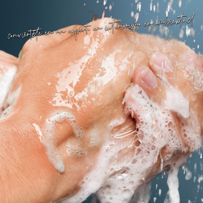 ¡Lávate las manos y cuida el medio ambiente!
