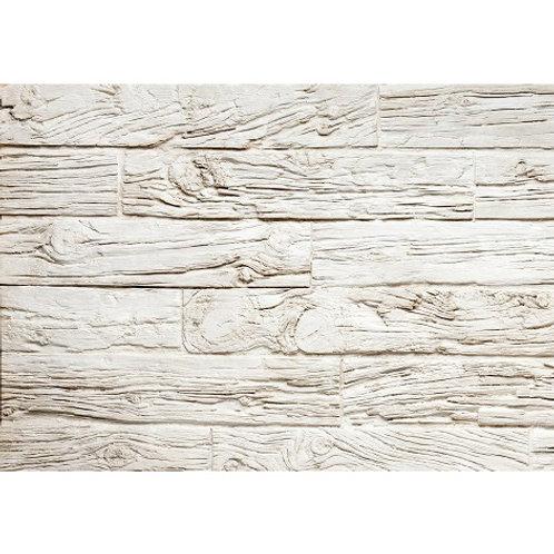 Panel Fibra de Vidrio Tablas Blanco Roto Viejo