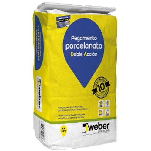 SOLCROM/WEBER PORCELANATO DA 25 KG