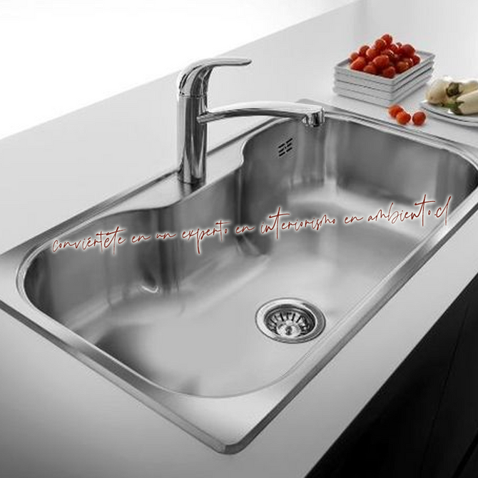 Tip de limpieza para tu lavaplatos