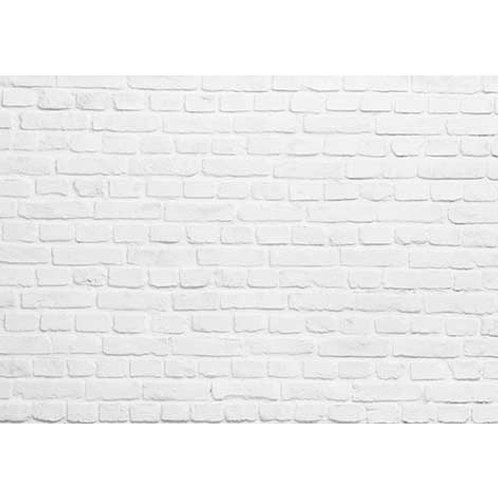 Panel Fibra de Vidrio Ladrillo Macizo Blanco