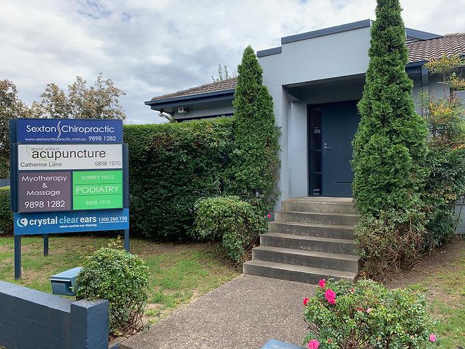 Sexton Chiropractic Surrey Hills Clinic