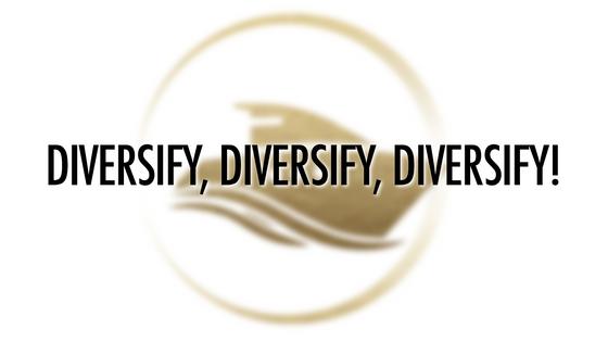 Diversify, Diversify, Diversify!