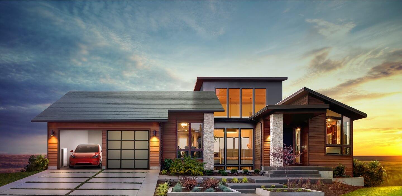 Tesla Solar Roof - Smooth Glass
