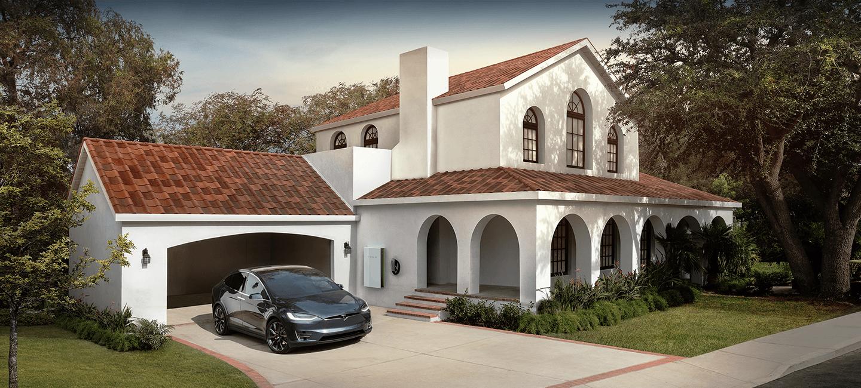 Tesla Solar Roof - Tuscan
