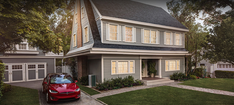 Tesla Solar Roof - Textured Glass