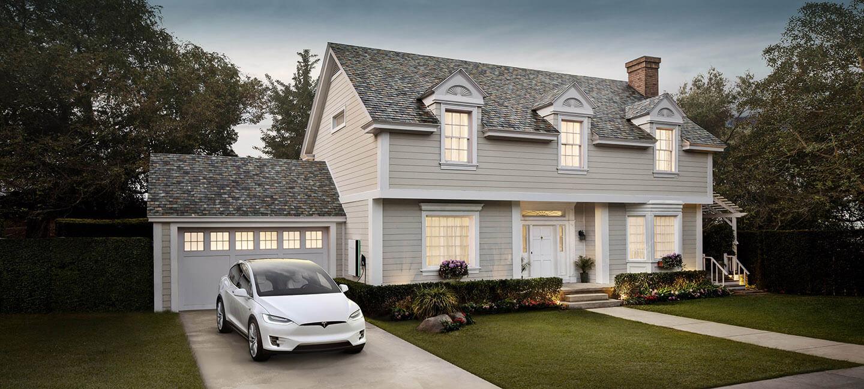 Tesla Solar Roof - Slate