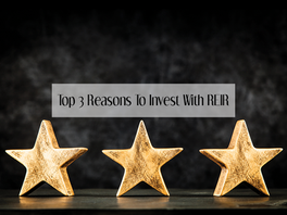Top 3 Reasons To Invest With REIR