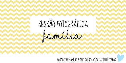 """Voucher """"Fotografia da Família"""""""