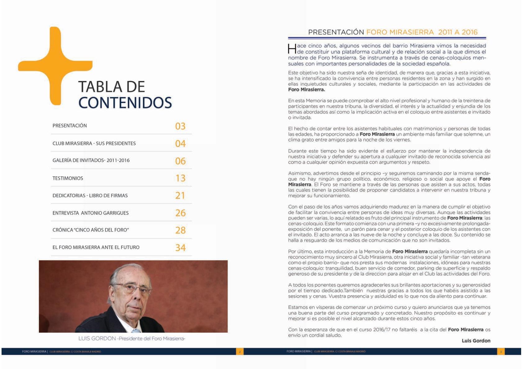 Foro Mirasierra -Memoria 2