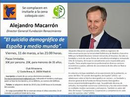 CENA-COLOQUIO CON ALEJANDRO MACARRÓN