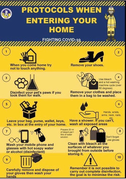Protocol When Entering Your Home
