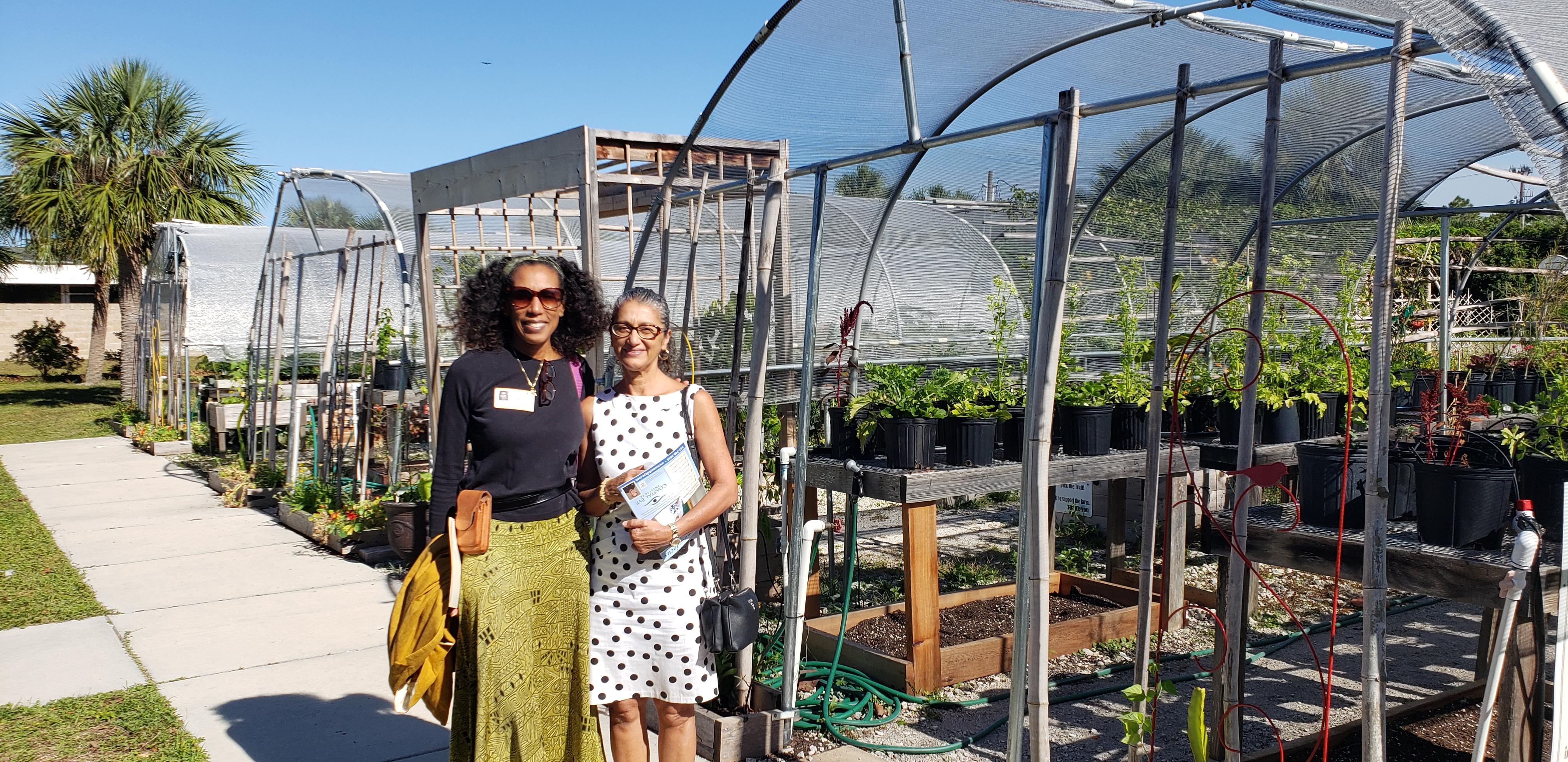 Dr. Merritt, Yasmin Easter Seals, Raised Gardens