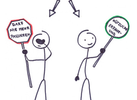 """Was sind """"Fehler"""" für dich? - Wie der Sozialisationsprozess unsere Wahrnehmung beeinflusst"""