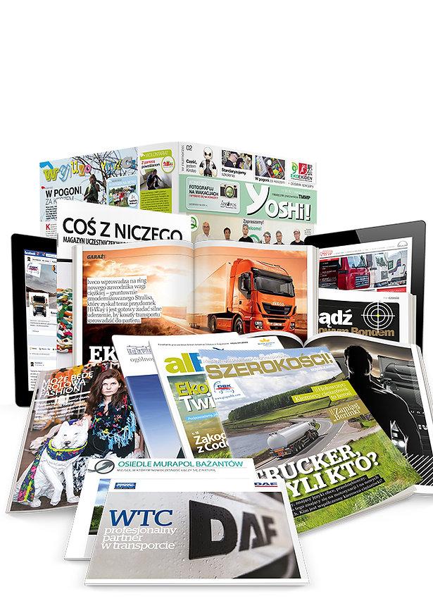 Custom publishing, content marketing, czasopisma firmowe, magzyny dla firm