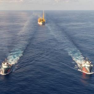 Guyana's 1st floating oil production complex (Liza Destiny) arrives