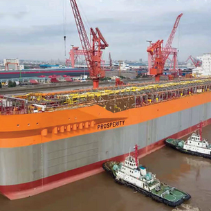 Fabrication work to begin on giant Prosperity FPSO