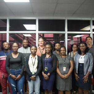 OSH facilitates safety and health training at Guyana Shore Base Inc.