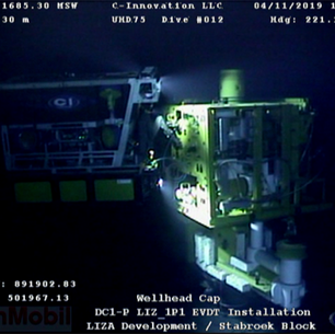 New milestone at Stabroek as first subsea tree installed