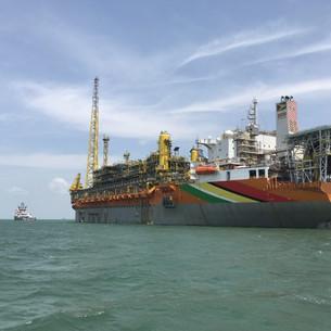 Floating oil production platform sets sail for Guyana oil onanza