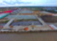 2017 10 aerial shot from sea yard cement