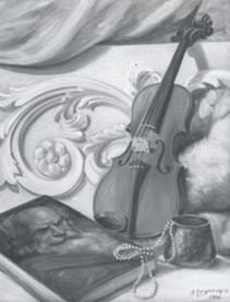 Etude au violon