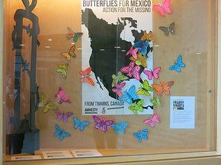 """Projet """"Papillons pour le Mexique"""""""