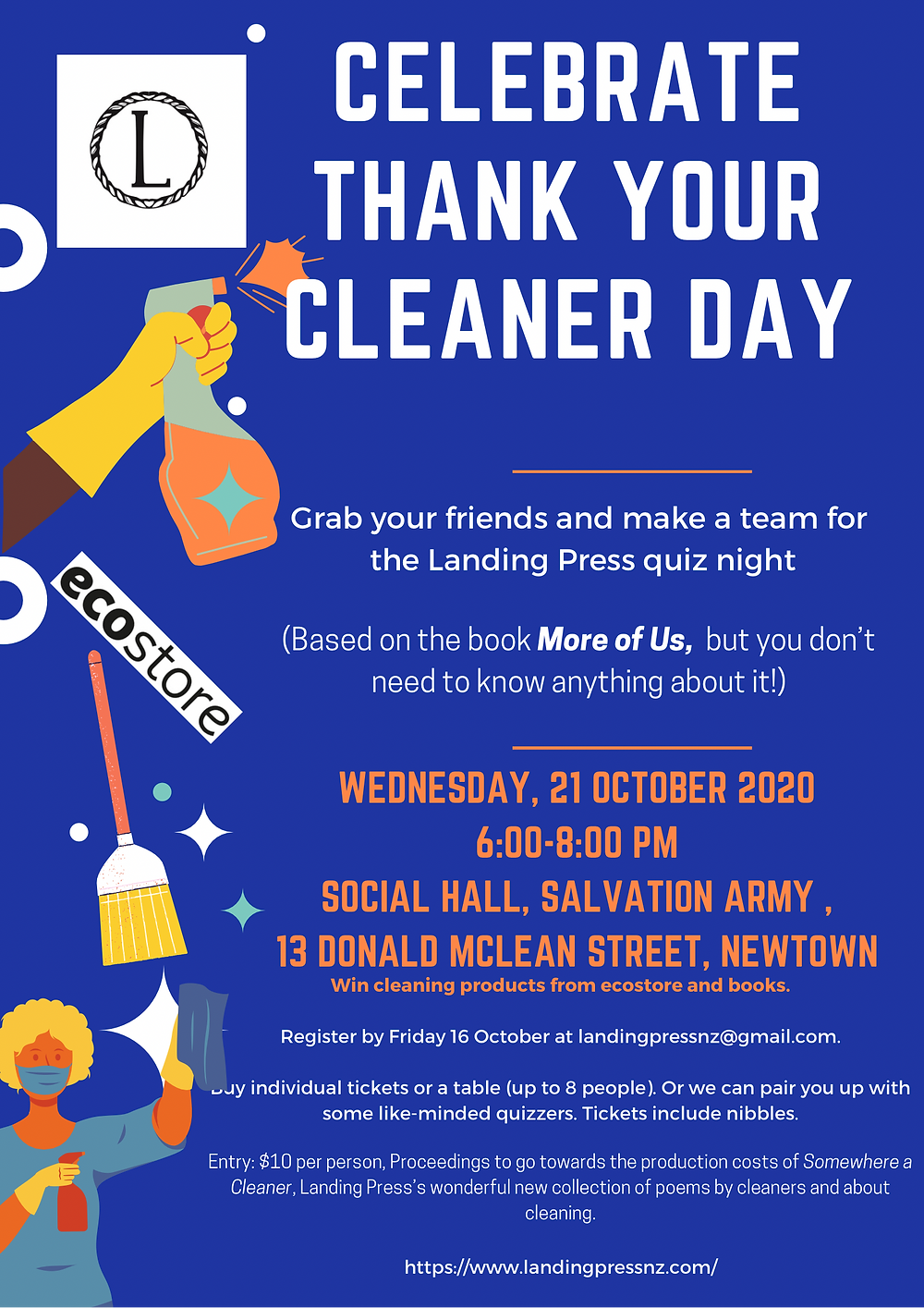 Thank your cleaner day poster