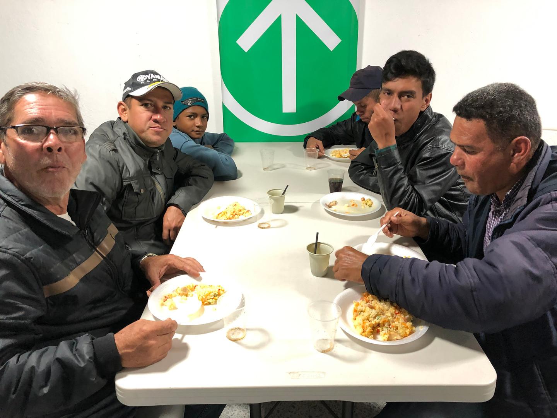 Feeding Refugees