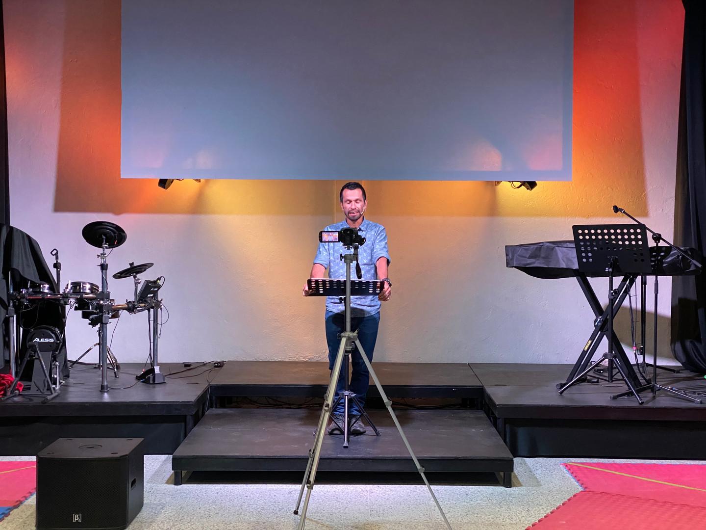 Recording a Sermon