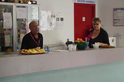 Lionel et Catherine, bénévoles
