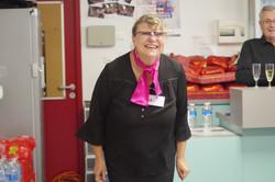 Catherine, bénévole